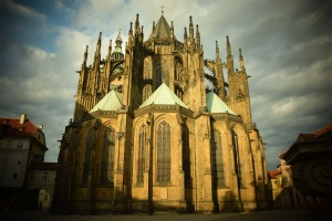 Backside of the St. Vitus Cathedral