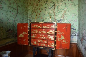 Wealthy families collected furniture from other countries to show how wealthy they were.