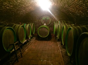 Wine cellar built in 1980s.
