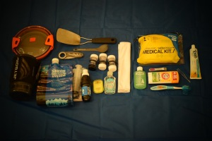 Toiletry and Kitchen set