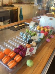Delicious macaroon place we stumbled across.