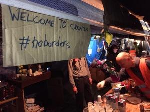Welcome to Croatia. #NoBorders
